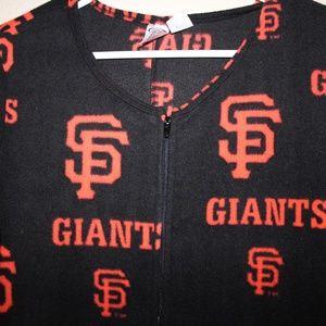 San Francisco Giants Sport Union Suit Pajamas